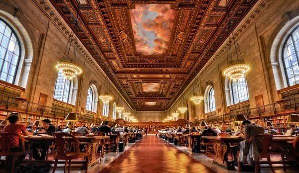 کتابخانه عمومی شهر نیویورک
