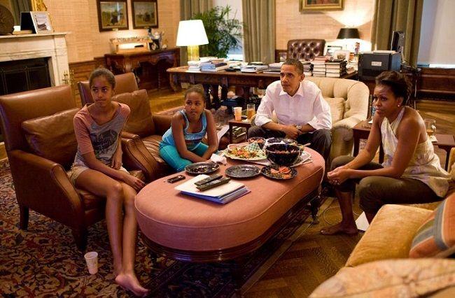 اوباما و خانواده