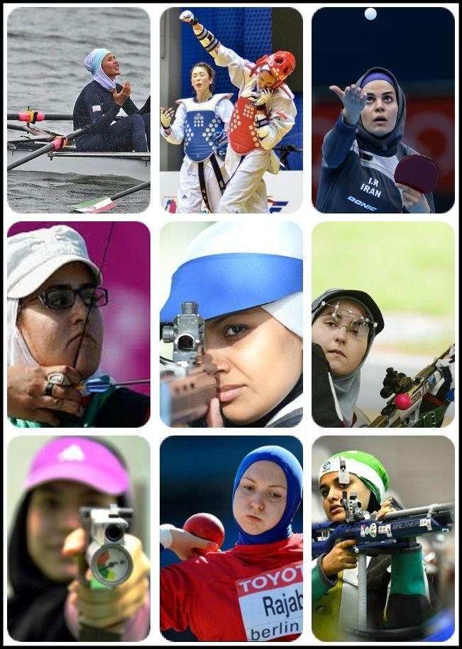 بانوان المپیکی ایران